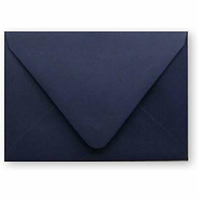 Navy Blue 70lb Straight Flap Envelope for Invitation Announcement Wedding A2A6A7