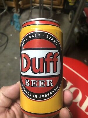 DUFF Yellow Edition Beer Can