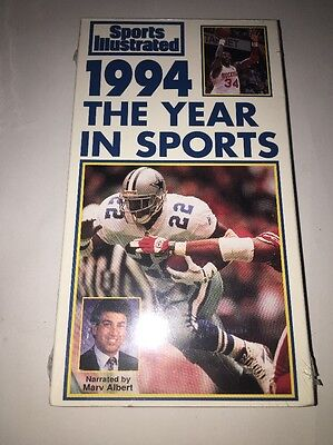 Sports Illustrated 1994 Del Año en Sports (VHS) Nuevo / Sellado y sin Abrir