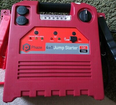 Halford phaze 4 in 1 battery pack jump start pack with charger -ex display