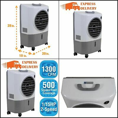 Evaporative Cooler Portable Compact Strong Lightweight 2 Speed (Swamp Cooler)