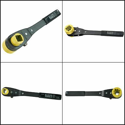 Ratcheting Lineman's Wrench Heavy Duty Utility Work Hand Tool Home Klein Tools