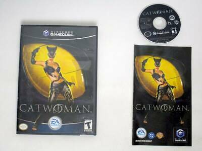 Catwoman game for Nintendo GameCube -Complete