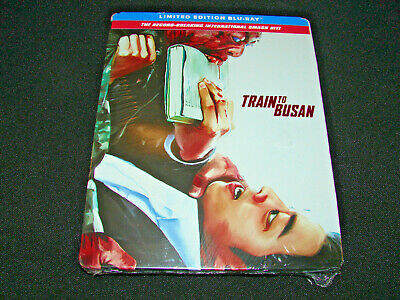 Train to Busan SteelBook (Blu-Ray Limited Edition) **NEW**   FACTORY SEALED!