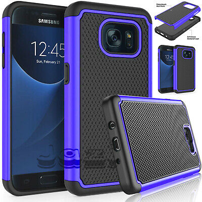 For Samsung Galaxy S6 S7 Edge S8 S9 S10 Plus Slim Shockproof Silicone Case Cover