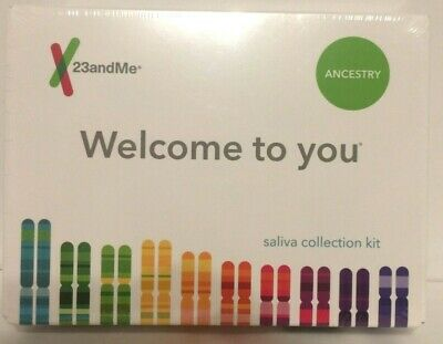 23andMe - Personal Ancestry DNA Kit with Lab Fee Included