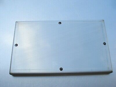 Hobart Dishwasher Stainless electric heat box cover. 00-474574