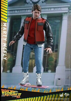 Marty McFly BTTF2 1/6 Figure MMS379 Back to the Future Hot Toys NEW NEUVE