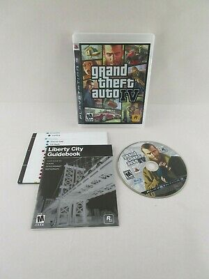 GRAND THEFT AUTO IV GTA 4 (Sony PlayStation 3) Complete w