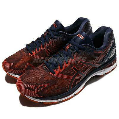 Details about Asics GEL Nimbus 19 PeacoatRed ClayPeacoat Sports Running Shoes T700N 5806