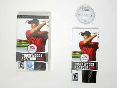 Tiger Woods PGA Tour 2008 game for Sony PSP -Complete