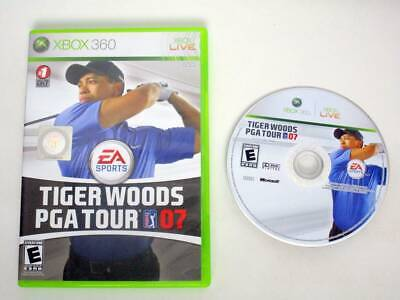 Tiger Woods 2007 game for Microsoft Xbox 360 -Game & Case