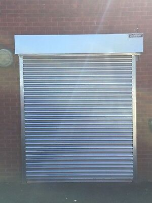 Made To Measure Galvanised Steel Electric  Roller Shutters!