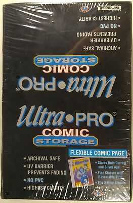 Ultra-Pro Comic Storage. Flexible Comic Page. 100. New [Current, Silver Age]