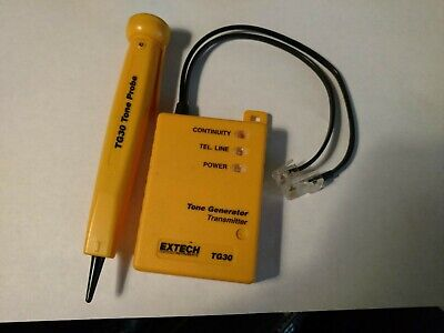 Extech Tone Generator And Probe Tg30