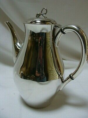 Reed and Barton Americana Silverplate #7035 Pitcher Coffee Pot 9.5""