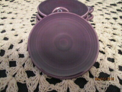 Fiesta Ware MULBERRY Purple Ornament Blank Ornie  Christmas