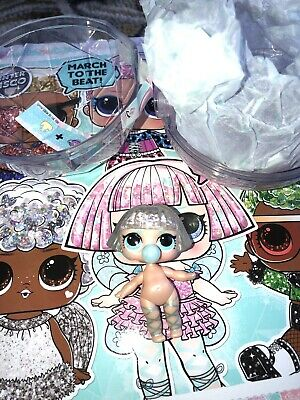 New Opened LOL Surprise Doll Glitter Globe Winter Disco ON POINTE