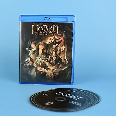 The Hobbit - The Desolation of Smaug Blu-Ray - Lord Of The Rings - Billingual