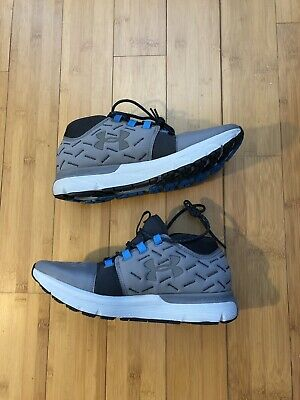 new product 9a8e1 3dac2 NEW UNDER ARMOUR Charged Reactor Running Mens Size 13 Grey ...