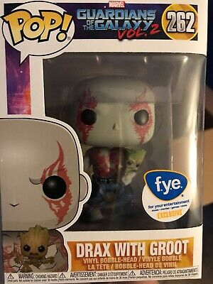 Funko Pop! Drax with Baby Groot Guardians of the Galaxy Vol 2 FYE Exclusive #262