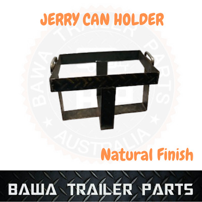 Jerry Can Holder Natural Finish! Perfect For Trailer! Caravans