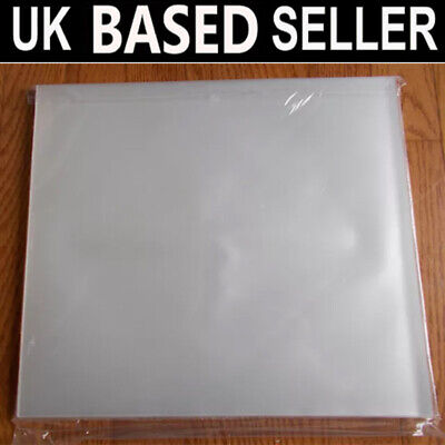 """100 12"""" Inch 250G PLASTIC POLYTHENE RECORD SLEEVES / COVERS FREE POSTAGE"""