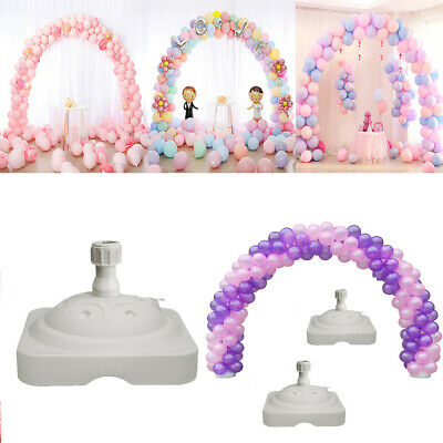 Large Balloon Arch Frame Column Stand Builder Kit for Birthday Wedding Party New