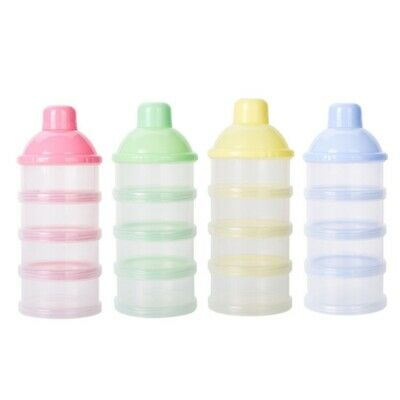 Portable Baby Milk Powder Storage Case Dispenser Boxes Outdoor Formula Container