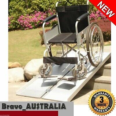 Aluminium Folding Access Ramp Portable Wheelchair Trolley Scooter Loading