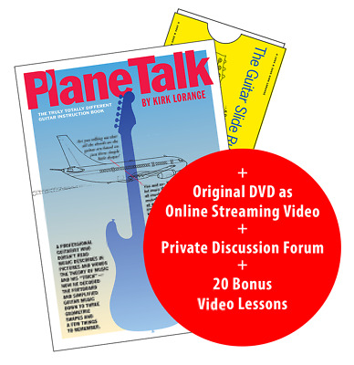 Planetalk -The Truly Totally Different Guitar Instruction Book and DVD