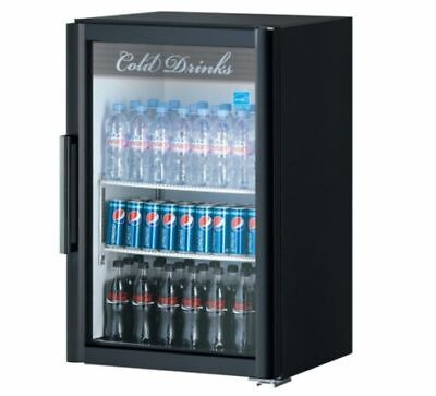 Turbo Air Super Deluxe Refrigerated Merchandiser, one-section, 7.6 cu. ft.