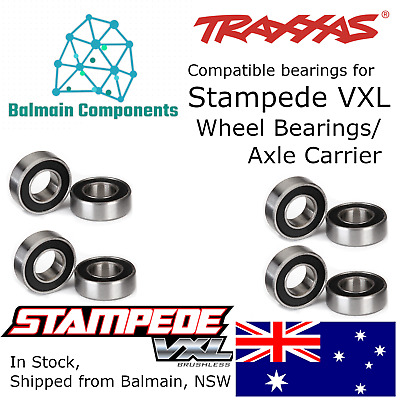 Traxxas Stampede VXL Compatible Axle Carrier / Wheel Bearing Kit 36076 5116