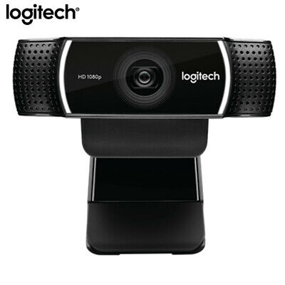 Logitech C922 HD Network Built-in Mic Video Conference Wide Angle 1080P Full 720