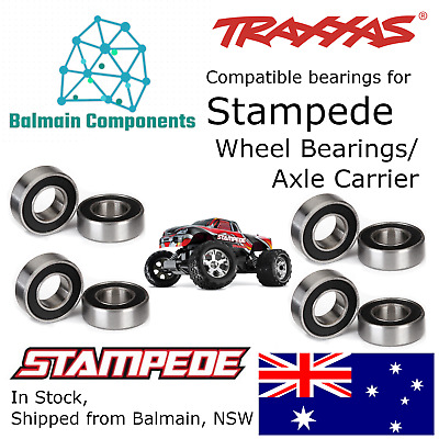 Traxxas Stampede Compatible Axle Carrier / Wheel Bearing Kit 36054 5116