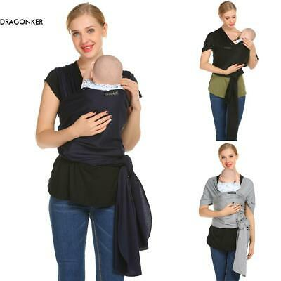 Mothers' Gift Adjustable Baby Wrap Rope Infant Newborn Baby Carrier Sling DKR