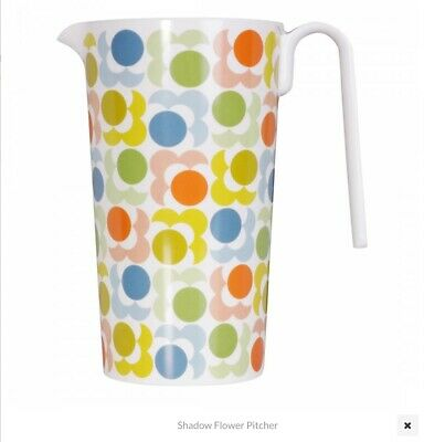 REDUCED! Orla Kiely LARGE SHADOW FLOWER Pitcher / Jug  BRAND NEW 🌼