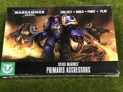 Space Marines - Easy to Build Primaris Aggressors - FREE SHIPPING
