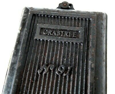 Large Vintage Crabtree Electric Switch Industrial Steampunk 250v 30a Cast Iron