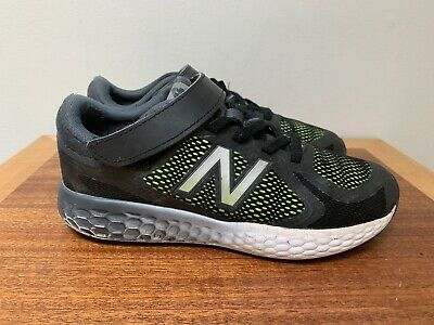 sports shoes 77c26 12044 NEW BALANCE 720 v4 KB720BEY Black/Acid Green Boys' Sneakers Athletic Shoes  sz 4