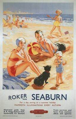 MABLETHORPE /& SUTTON SEA  Vintage Railway Poster A1,A2,A3,A4 Sizes