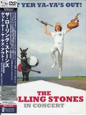 Get Yer Ya-Ya's Out! Rolling Stones Japanese 3-disc CD/DVD Set promo UICY-1455