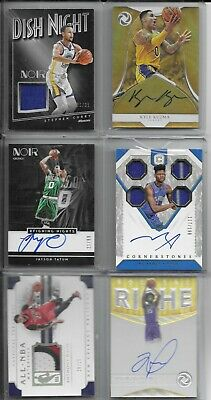 NBA Basketball Cards Hot Packs 2 Hits Per Pack 10 Cards!