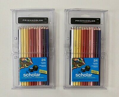 Prismacolor 92805 Scholar 24 Colored Pencils - Set Of 2 (0726-134.A2)