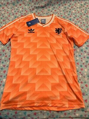 80s style Holland Classic 1988 Football Soccer Shirt Medium Retro Men's Tags
