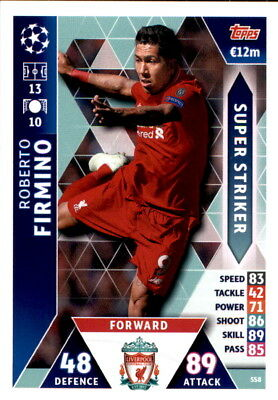 Champions League 18/19 - Card SS8 - Roberto Firmino - Super Striker