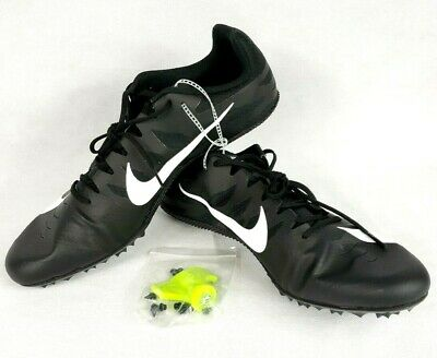New Nike Zoom Rival S Mens Track & Field Spikes Sprint Racing Shoes sz 15 Black