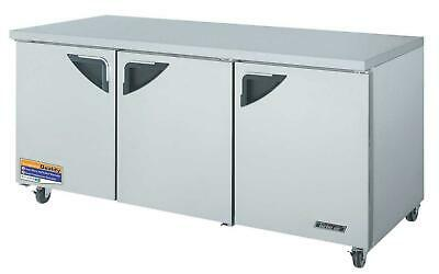 """Turbo Air 72"""" Refrigerator Undercounter Cooler TUR-72SD Great condition"""