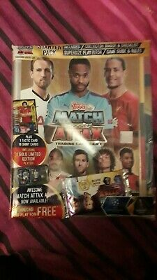 Match Attax 2019/20 Champions League Starter Pack