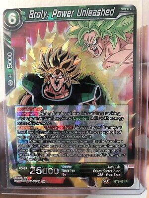 4x NM 1 PLAYSET Power Unleashed BT6-061 R Destroyer Kings Broly